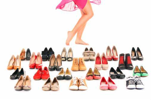 เลือกรองเท้าให้ถูกโฉลกกับราศี