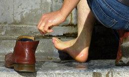 5 เคล็ดลับ สยบปัญหาเท้าเหม็น
