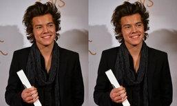 """""""แฮรี่ สไตล์"""" One Direction เผยเคล็ดลับเอว 26 นิ้ว กับ """"เครื่องดื่มมหัศจรรย์"""""""