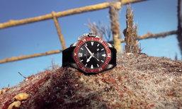 นาฬิกาดำน้ำสายพันธุ์แกร่ง Hamilton Khaki Navy Frogman 2016