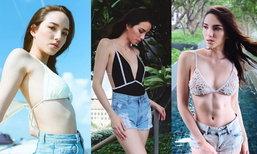ส่องความเซ็กซี่ เทีย ทีมบี The Face Thailand Season 3