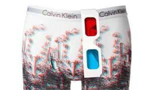 CK 3D กางเกงในทะลุแว่น