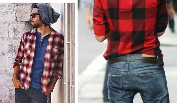 Street Fashion : เสื้อลายสก๊อต