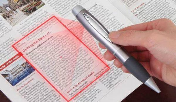 """ปากกา""""สแกนเนอร์""""เขียนได้สแกนดี"""
