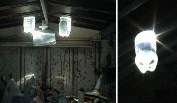 DIY : หลอดไฟจากขวดน้ำพลังงานแสงอาทิตย์