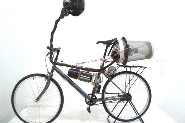 จักรยานฟอกอากาศได้ในจีน