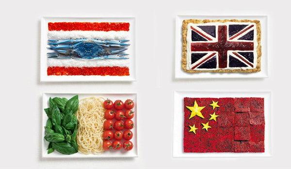 แกลลอรี่ ออสเตรเลียทำเก๋ ประดิษฐ์ธงชาติจากอาหาร ธงไทยทำจากอะไร ติดตาม..