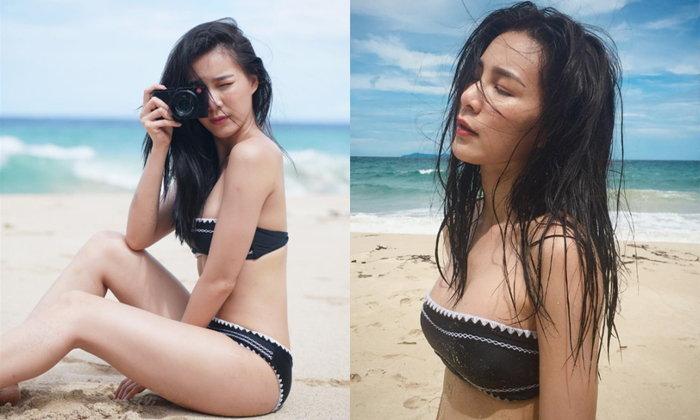 ยิ่งดู ยิ่งเซ็กซี่ จันจิ ไกอา กับภาพชุดว่ายน้ำล่าสุด