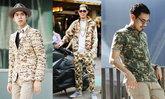 Street Fashion แฟชั่นลายทหาร จากนิตยสาร Looker