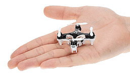 ′โดรนติดกล้อง′ เล็กที่สุดในโลก จะเล็กขนาดไหน?!