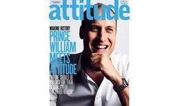 เจ้าชายวิลเลียมขึ้นปกนิตยสารเกย์ 'Attitude'