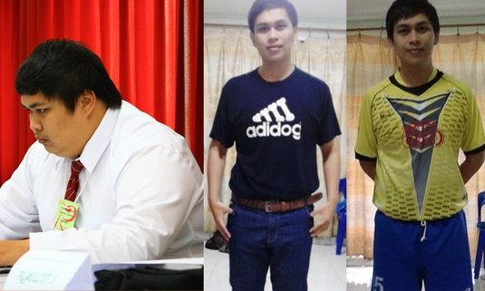 คุมอาหาร+ออกกำลังกาย เปลี่ยนน้ำหนัก 142 ให้เป็น 88