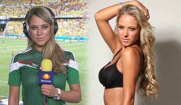นักข่าวสาว ที่เซ็กซี่ที่สุดในบอลโลก 2014
