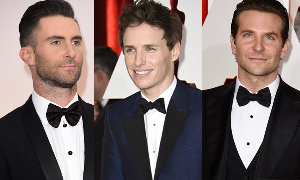 Best Men's Hairstyles งาน Oscars 2015