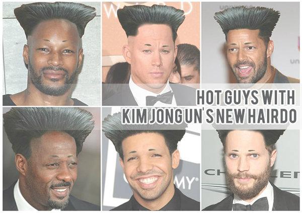 นักแสดงสุดหล่อกับทรงผมสไตล์ Kim Jong Un
