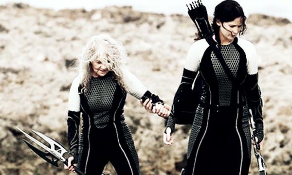 Hunger Games เก็บตกโปสเตอร์จาก Victory Tour