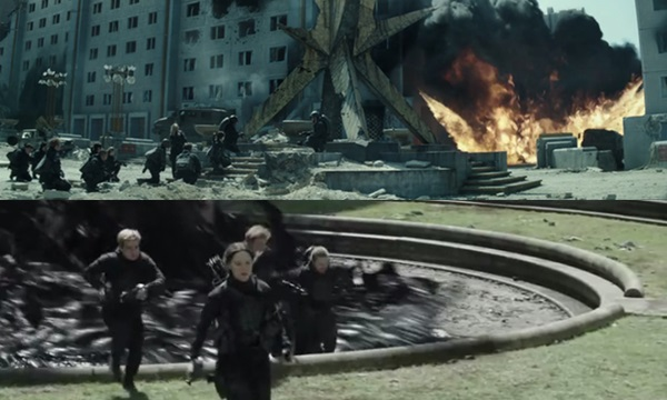5 ฉากสุดระทึกใน The Hunger Games: MOCKINGJAY PART 2