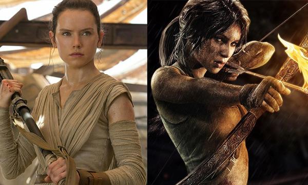 นางเอก Star Wars: The Force Awakens เต็งหนึ่งบท Tomb Raider รีเมค
