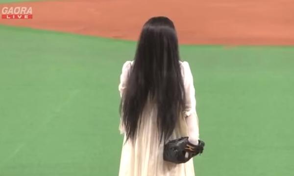 แบบนี้ก็ได้เหรอ? ผีเดอะริงหวดเบสบอลกับผีจูออนโปรโมต Sadako VS. Kayako