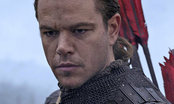 แมตต์ เดม่อน รับบทนำใน The Great Wall แม้ไม่ใช่คนเอเชีย