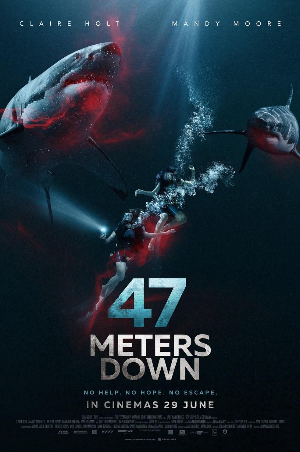 47 Meters Down : 47 ดิ่งลึกเฉียดนรก