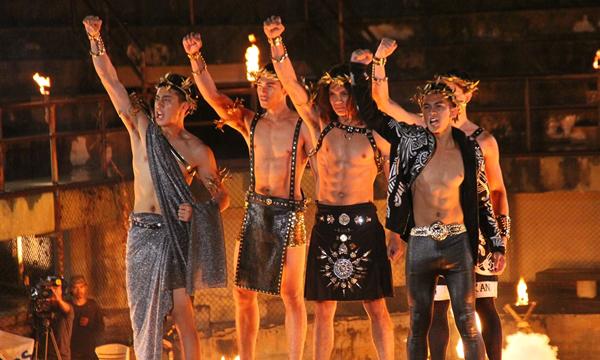 THE FACE MEN THAILAND เจอโจทย์หิน โชว์แมนในลุคนักรบโบราณ!