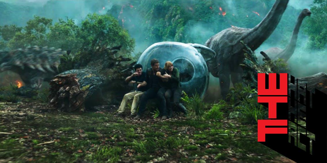 ทีเซอร์แรกของ Jurassic World: Fallen Kingdom
