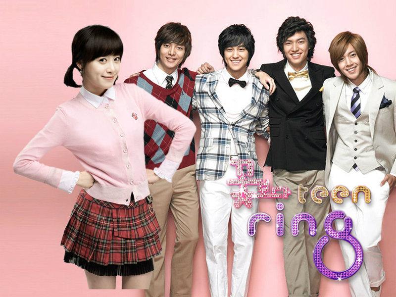 เรื่องย่อละคร Boys over Flowers (F4)