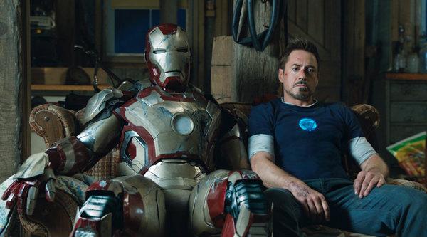 ภาพพร้อมสปอตทีวีชุดใหม่ Iron Man 3