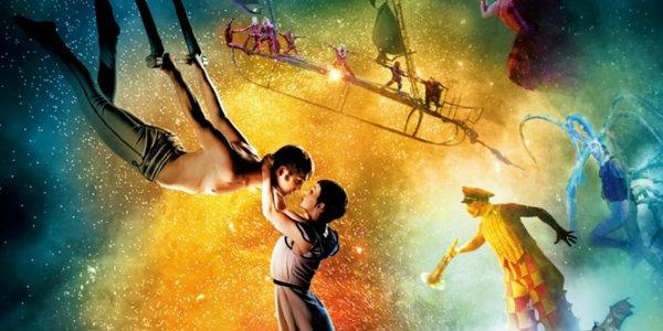กิจกรรมชิงดีวีดีภาพยนตร์ Cirque du Soleil Worlds Away
