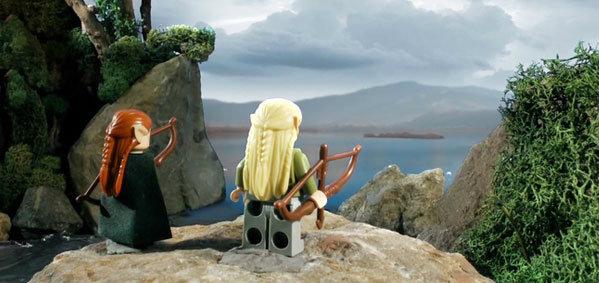 ตัวอย่าง The Hobbit: The Desolation of Smaug ฉบับ LEGO