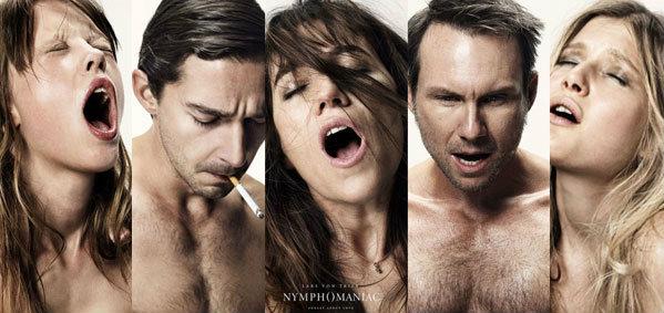 14 ใบปิด เปลือยสุดอารมณ์ใน Nymphomaniac