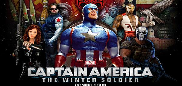 มาแล้ว 4 โปสเตอร์ใหม่ Captain America The Winter Soldier!!