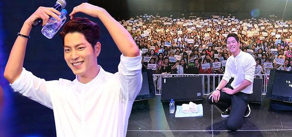 ฟินไม่หาย! แฟนมีตติ้ง ฮงจงฮยอน  Hong Jong Hyun Be My Valentine Fan Meeting in Bangkok