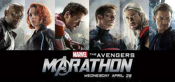 มาร์เวล สตูดิโอส์ ชวนแฟนซูเปอร์ฮีโร่และแฟนไอแมกซ์ ดู Avengers แบบมาราธอน