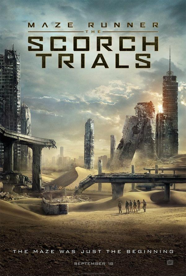 Maze Runner : The Scorch Trials สมรภูมิมอดไหม้