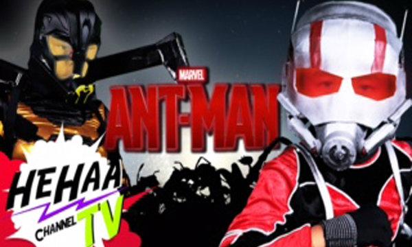 คลิปล้อเลียน Ant-Man ฝีมือเด็กไทย ไม่แพ้ชาติใดในโลก