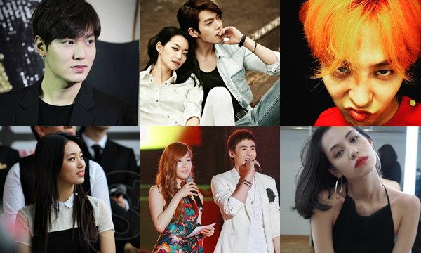 6 คู่รักเกาหลีเปิดตัว ช็อคติ่ง!