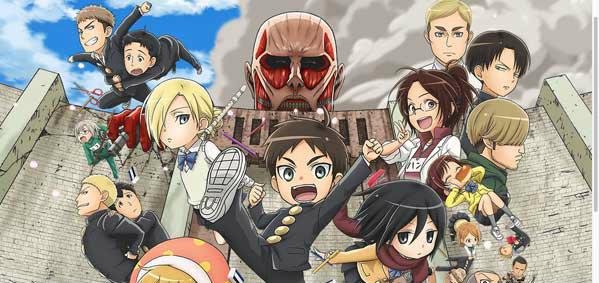 ตัวอย่าง Attack on Titan: Junior High ผ่ามัธยมไททันฉบับอนิเมะ