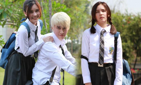 """ออม ย้อนวัยใส่ชุดนักเรียนเป็นสาวช่างมโน ใน """"KISS ME รักล้นใจนายแกล้งจุ๊บ"""""""