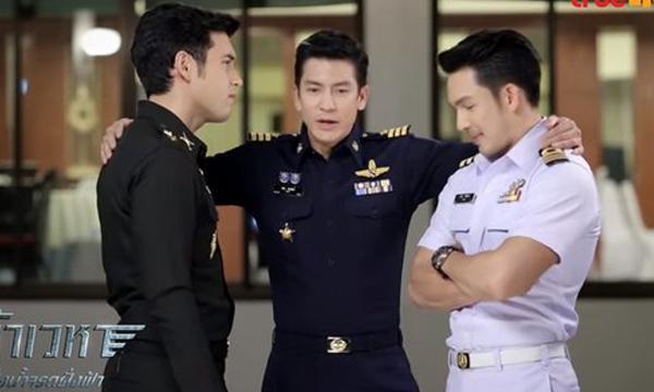 """กรี๊ดแหลก! """"เจ้าเวหา"""" ตอนแรก เปิดตัว 3 พระเอกทหาร หล่อไม่แพ้ กัปตันยูชีจิน"""