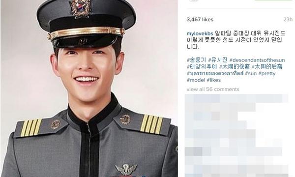 KBS เผยภาพจบการศึกษาของ กัปตันยูชีจิน Descendants of the Sun
