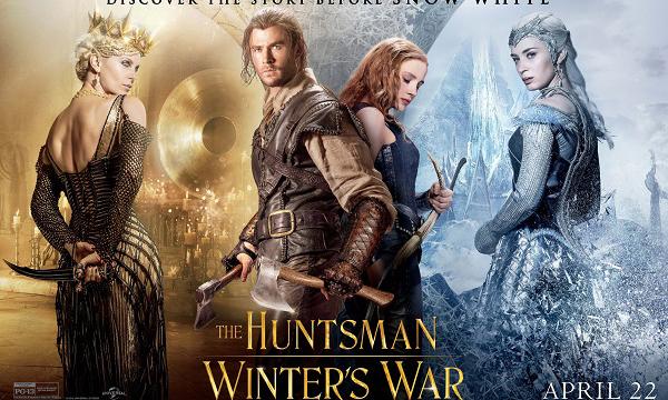 แป๊กสนั่น The Huntsman: Winter's War เปิดตัวในอเมริการายได้น้อยกว่าที่คิด