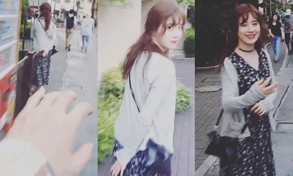 """ข้าวใหม่ปลามัน """"อันแจฮยอน-คูฮเยซอน"""" นางเอก F4 เกาหลี สวีทหวานที่ญี่ปุ่น"""