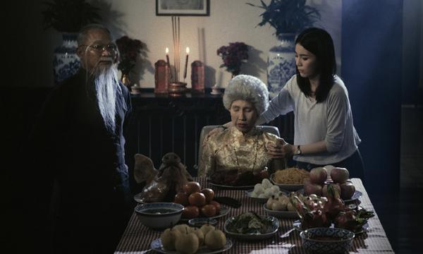 """ฮาฮวงซุ้ยแตก! ตัวอย่างแรกหนัง """"อาม่า"""" ป่วนจอ เปิดพินัยกรรมชวนหัว!"""