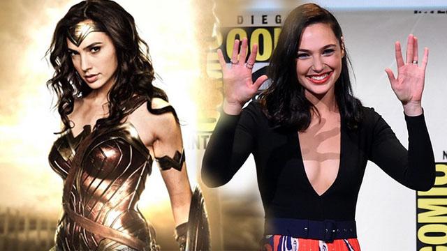 """ปล่อยพลังขั้นสุด """"กัล กาด็อท"""" Wonder Woman กับชุดแหวกอกลึกสุดแจ่ม"""
