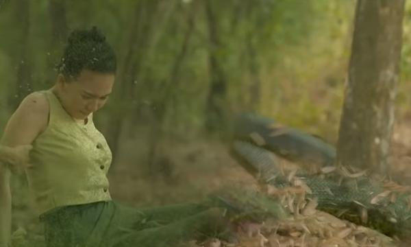 ปรบมือ! CG สุดเนียน ฉากงูปลิวเป็นคน ในละคร นาคี