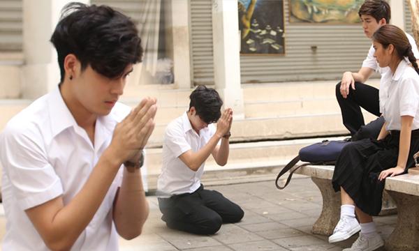 เก้า จิรายุ เผลอตบ เก้า สุภัสสรา สำนึกผิดก้มกราบขอโทษ O-Negative