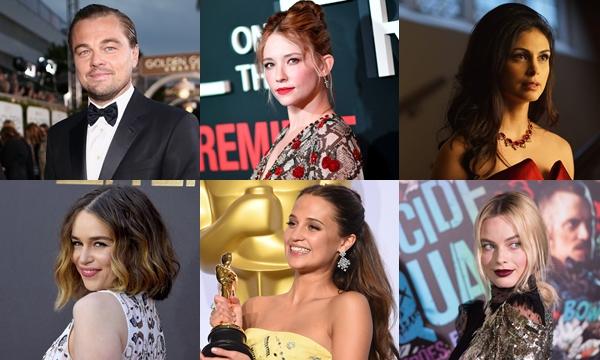 10 นักแสดงแห่งปี 2016 โดยเว็บไซต์ IMDB