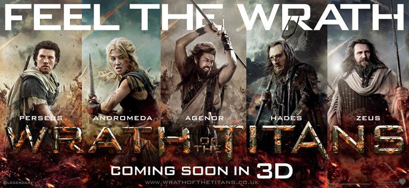 มารู้จัก 5 ตัวละครจาก Wrath of the Titans